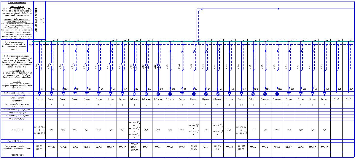 Однолинейная схема электрических сетей фото 720